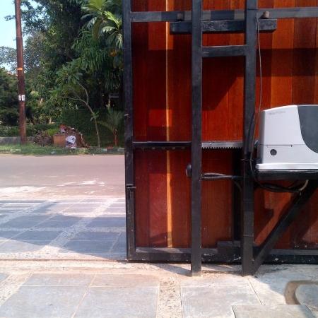 Pintu Pagar Otomatis NICE